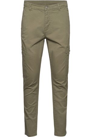 Lindbergh Man Cargobyxor - Cargo Pants Trousers Cargo Pants Beige