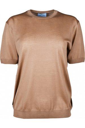 Prada Kvinna T-shirts - Ull-t-shirt