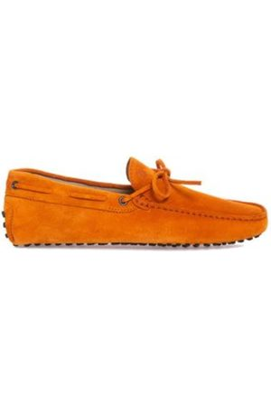 Tod's Loafers in natural leather with decorative laces
