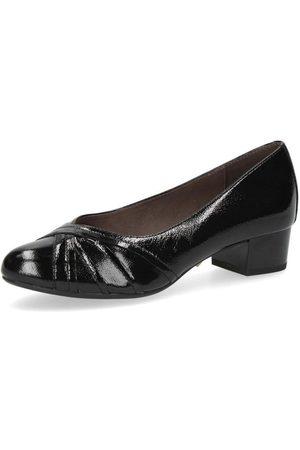 Caprice Kvinna Pumps - Elegant Closed Flats Black