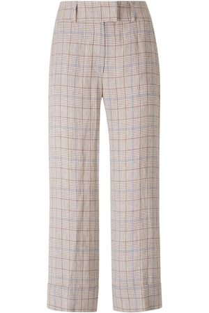 PESERICO SIGN Cropped Prince of Wales Pants