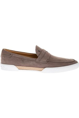 Tod's Riviera - Moccasins with topstitched tab