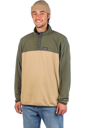 Patagonia Micro D Snap-T Sweater classic tan