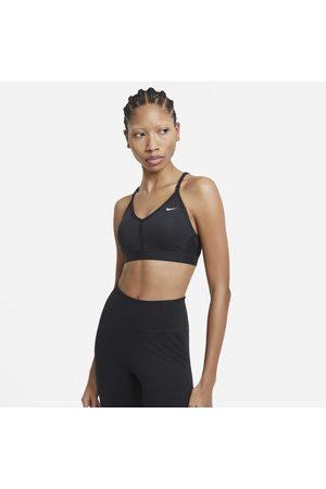 Nike Vadderad v-ringad sport-BH med lätt stöd Dri-FIT Indy