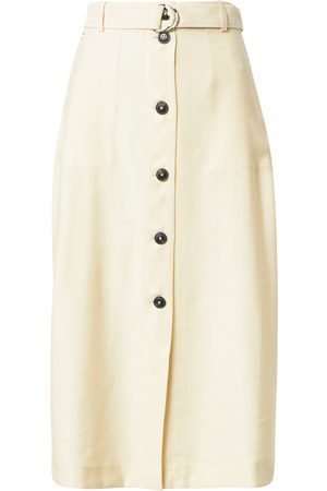 Tommy Hilfiger Kjol ' X ABOUT YOU BUTTONED MIDI SKIRT