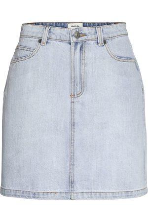 Modstrom Ilias Vintage Blue Skirt Kort Kjol