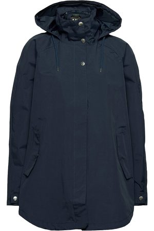 Helly Hansen Kvinna Regnjackor - W Valentia Raincoat Outerwear Rainwear Rain Coats