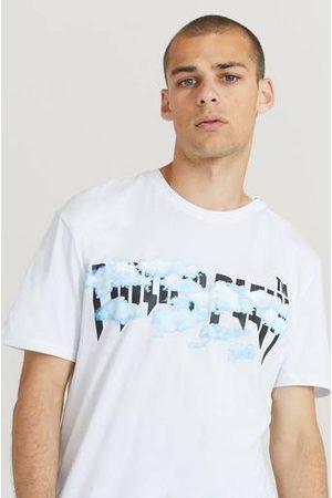 Philipp Plein Man Pikétröjor - T-Shirt Round Neck SS Clouds