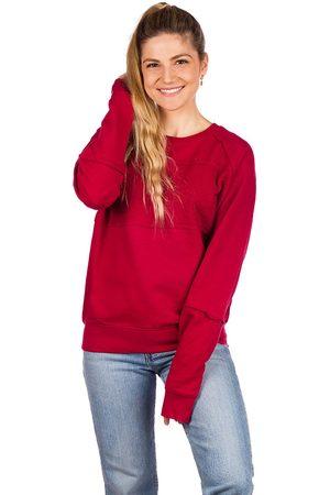 Coal Crystal Crewneck Sweater rio red
