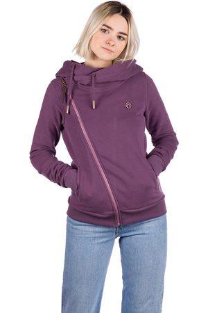 Kazane Marte Zip Hoodie vintage violet