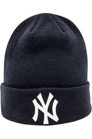 New Era Mössor - Stickad Mössa - New York Yankees - Marinblå