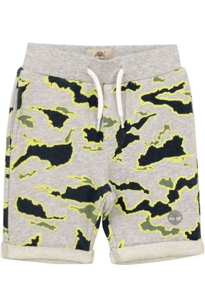 Timberland Pojke Shorts - Shorts - Ekosystem - Gråmelerad m. Camouflage