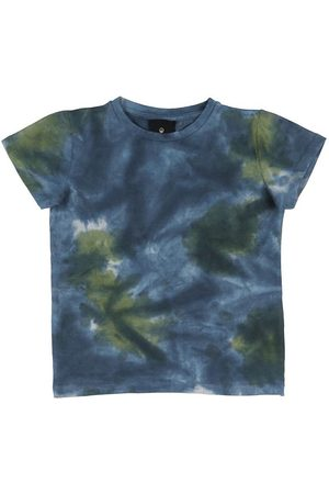 The New T-shirt - Rex Tie Dye - Thyme/Navy Blazer