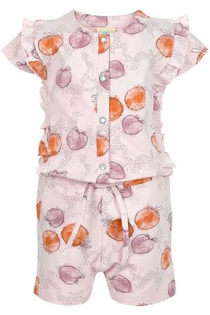 EN FANT Flicka Playsuits - Jumpsuit - Lilac m. Frukter