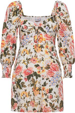 FAITHFULL THE BRAND Kvinna Mönstrade klänningar - Arianne Mini Dress Kort Klänning Multi/mönstrad