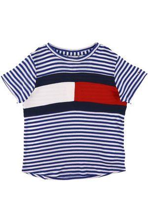Tommy Hilfiger T-shirt - Stripe Knit - Regal Navy/ m. Rand