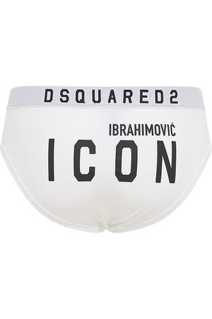 Dsquared2 Ibrahimovic Icon Stretch Cotton Briefs
