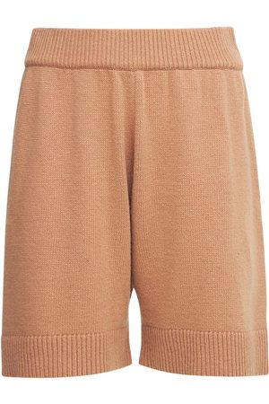 The Frankie Shop Juno Wool Blend Knit Lounge Shorts