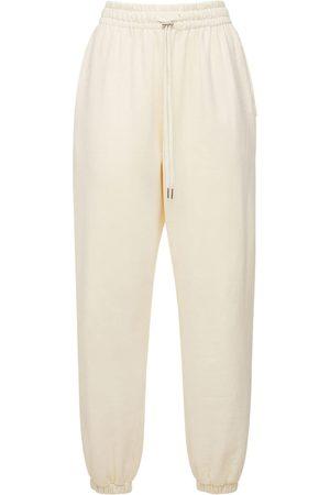 The Frankie Shop Kvinna Joggingbyxor - Vanessa Organic Cotton Sweatpants