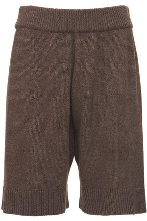The Frankie Shop Kvinna Myskläder - Juno Wool Blend Knit Lounge Shorts