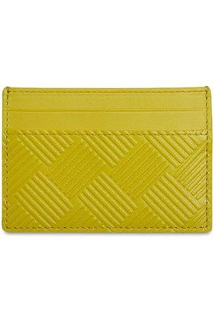 Bottega Veneta Intreccio Debossed Leather Card Case