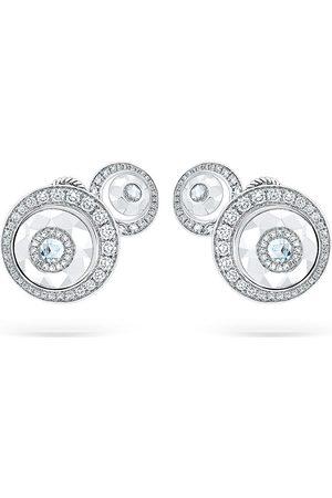 David Morris Kvinna Örhängen - Diamantörhängen i 18K vitguld