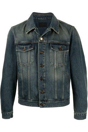 Saint Laurent Man Jeansjackor - Faded-effect denim jacket