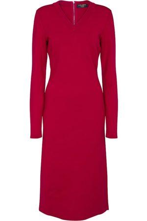 Dolce & Gabbana Exclusive to Mytheresa – Stretch-wool midi dress