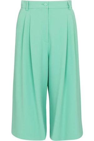 Dolce & Gabbana Kvinna Shorts - High-rise stretch-cady Bermuda shorts