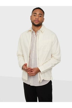 Selected Slhloosedayton Shirtjacket Ls Zip W Skjorta Egret