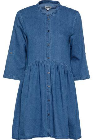 ONLY Kvinna Casual klänningar - Skjortklänning 'CHICAGO