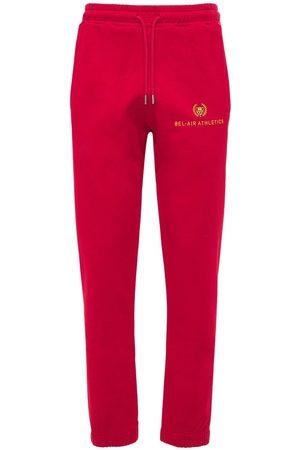 BEL-AIR ATHLETICS Athletics Logo Embroidered Sweatpants