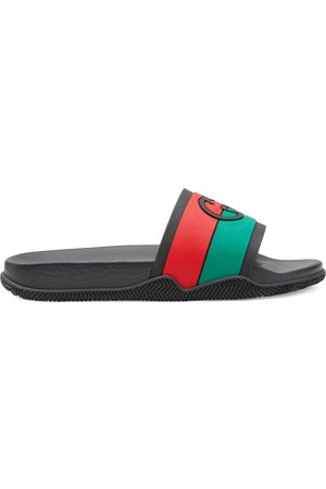 Gucci Men's Interlocking G slide sandal