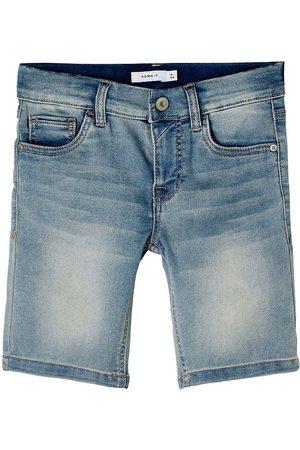 NAME IT Pojke Shorts - Shorts - Denim - Noos - NkmTheo - Light Blue Denim