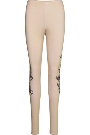 Soulland Kvinna Leggings - Ying Leggings Leggings Rosa