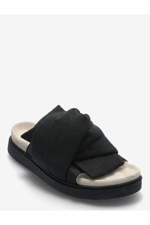 INUIKII Kvinna Sandaler - Knot Lino Shoes Summer Shoes Flat Sandals