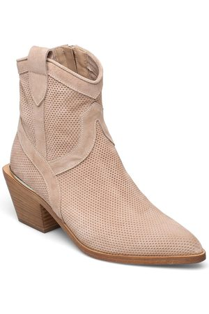 Laura Bellariva Ankle Boots Shoes Boots Ankle Boots Ankle Boot - Heel Rosa