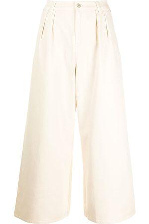 Paul Smith Croppade wide leg-jeans