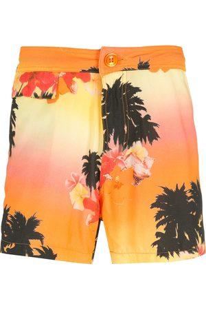 AMIR SLAMA Man Bermudashorts - Ilha de Hibiscus shorts