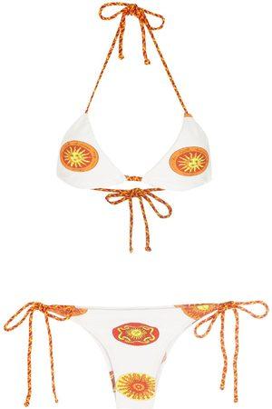 AMIR SLAMA Kvinna Bikinis - Sol mönstrad bikini