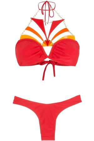 AMIR SLAMA Kvinna Bikinis - Broderad bikini