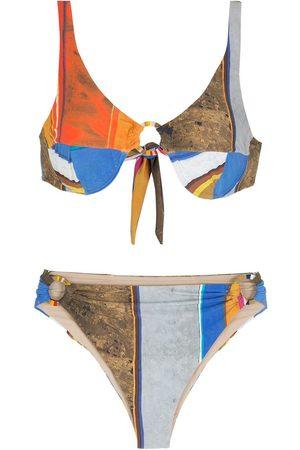 AMIR SLAMA Eco randig bikini