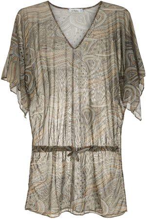 AMIR SLAMA Kvinna Strandklänningar - Mönstrad strandklänning