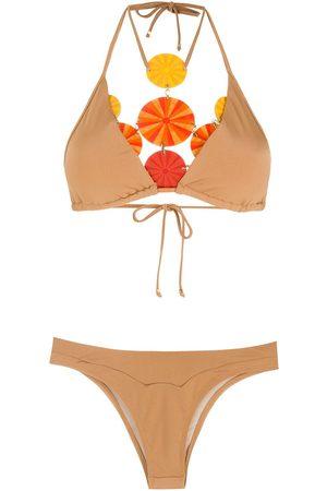 AMIR SLAMA Bikini med högt skurna ben