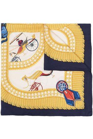 Hermès Pre-owned Carriage mönstrad sjal