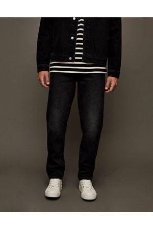 Topman – Bleksvarta raka jeans