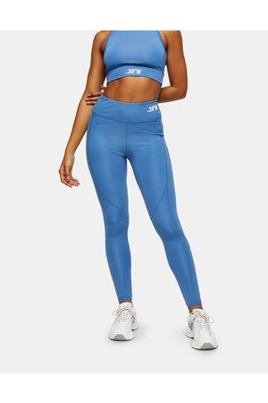 Topshop – Active – Blå träningsleggings