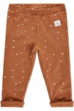 Minymo Flicka Joggingbyxor - Sweatpants - Thrush m. Prickar