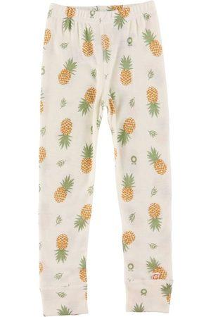 Katvig Leggings - Ull - m. Ananas