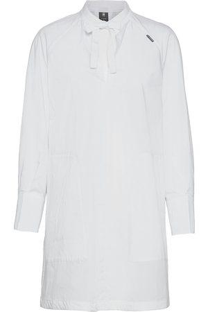 G-Star Kvinna Tunika klänningar - V-Neck Tunic Dress L\S Dresses Shirt Dresses